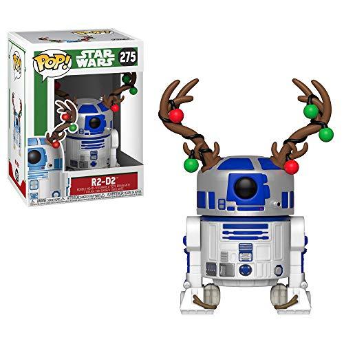 Amazon MX: Funko Pop R2D2 de Star Wars con cuernos de navidad. Aplica PRIME