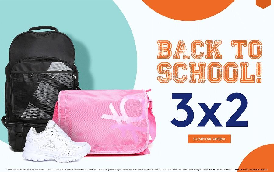 Promoda Outlet Online: 3 x 2 en Back to School