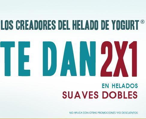 Nutrisa: 2x1 en helado suave doble de 1 a 4 de lunes a miércoles