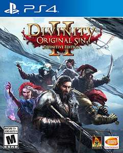 Amazon: Divinity Original Sin 2 Definitive Edition para Playstation 4 y Xbox One