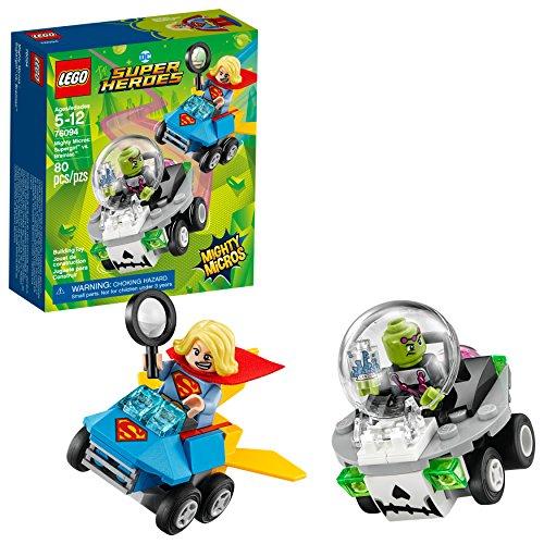 Amazon: LEGO Juego de Construcción DC Comics Super Heroes Mighty Micros, Supergirl Vs. Brainiac