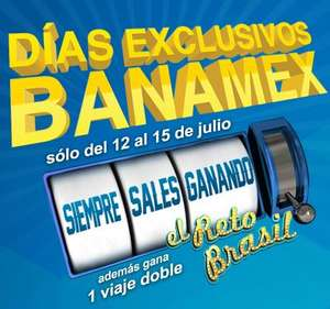 Días exclusivos Banamex del 12 al 15 de julio en La Comer, Best Buy, Sam's y más