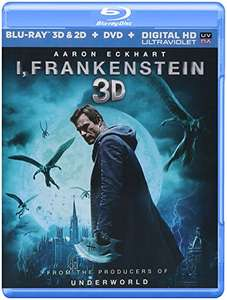 Amazon: I, Frankenstein [Blu-Ray 3D & 2D + DVD + Digital HD Ultaviolet]
