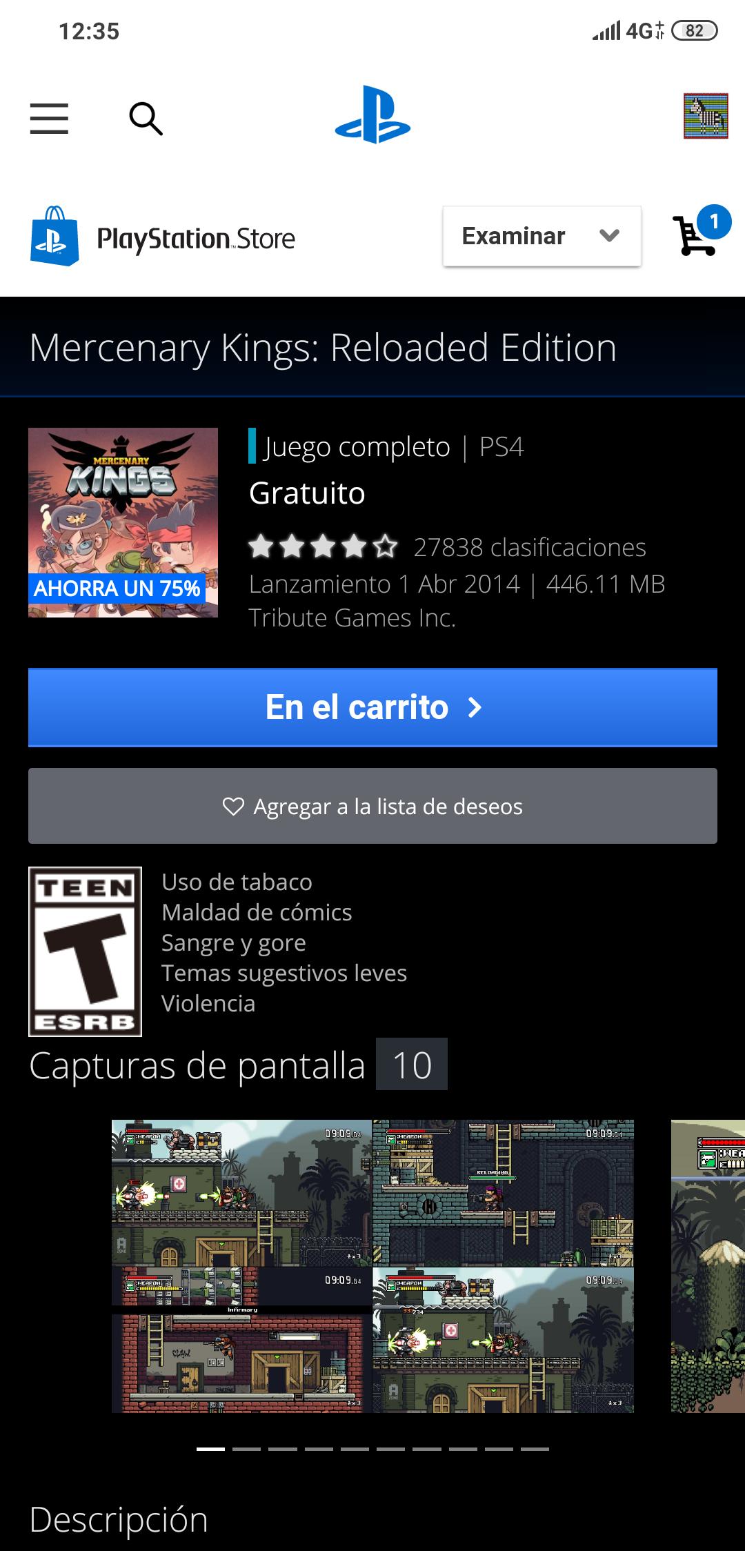 Mercenary Kings: Reloaded Edition Gratis PS4