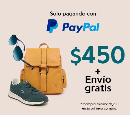 PRIVALIA Y PAYPAL 450 DESCUENTO Y ENVÍO GRATIS (NUEVOS USUARIOS)