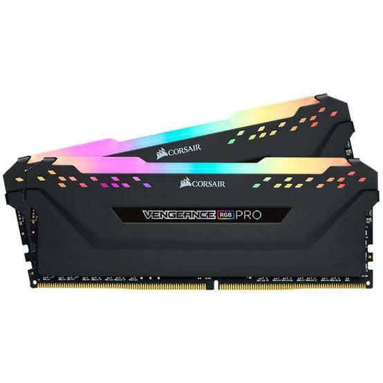 Cyberpuerta: Kit Memoria RAM Corsair Vengance RGB PRO DDR4, 3200MHz, 16GB (2x 8GB), CL16, XMP, 1.35V