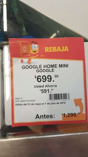 Walmart: Google home mini