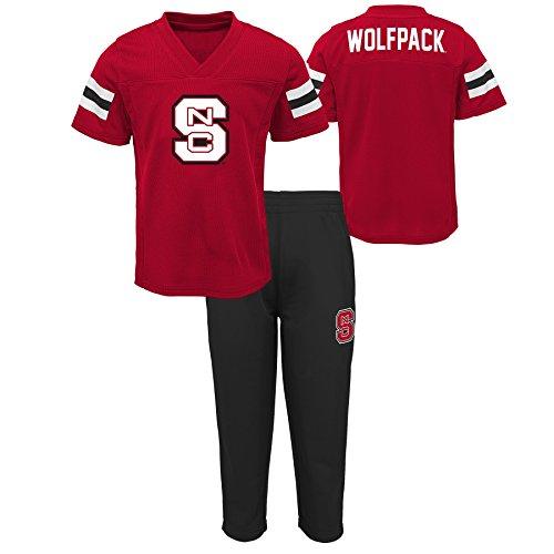 Amazon Juego de playera y pants NCAA para niños North Carolina State Wolfpack Talla 2T