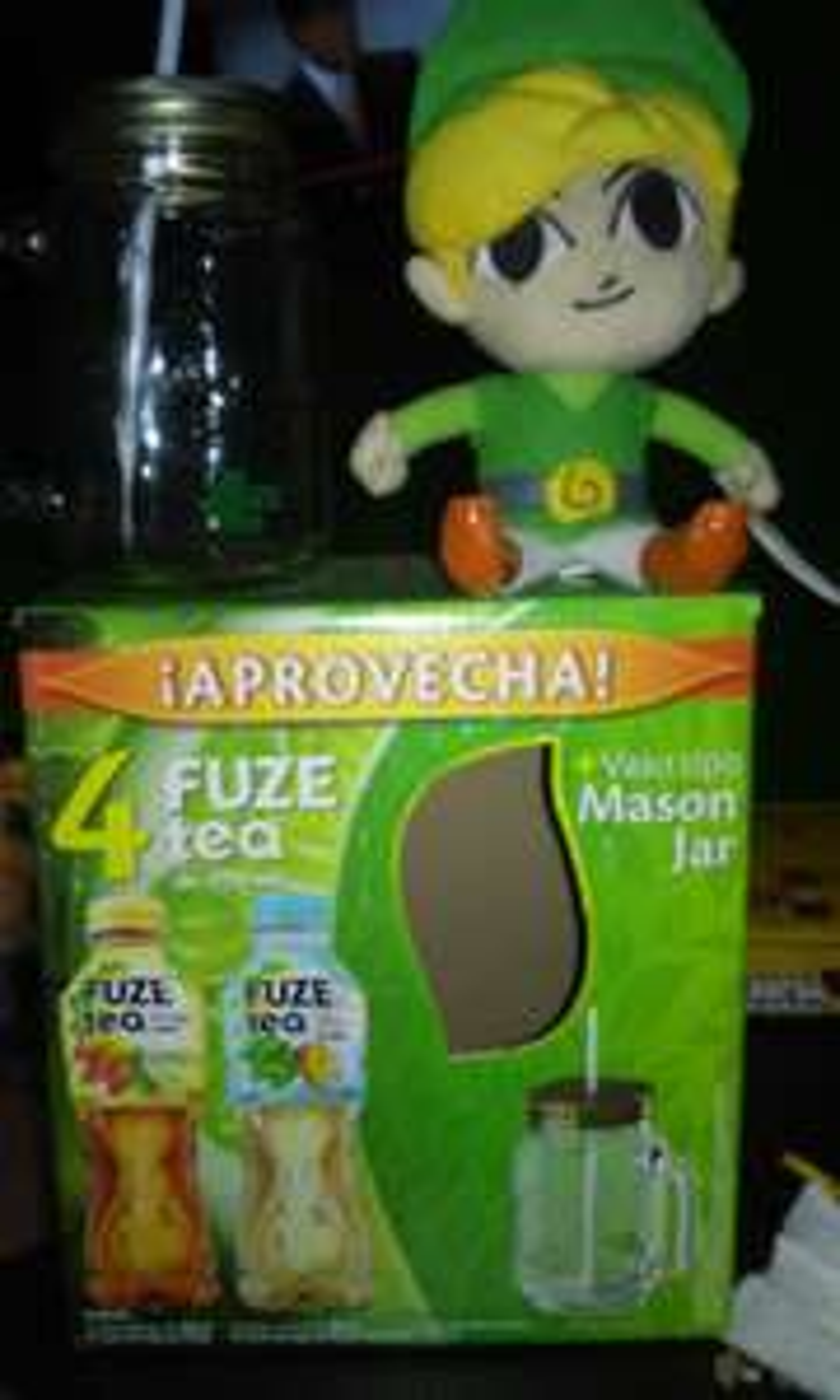 Walmart: 4 Fuze tea + Mason Jar $42.90