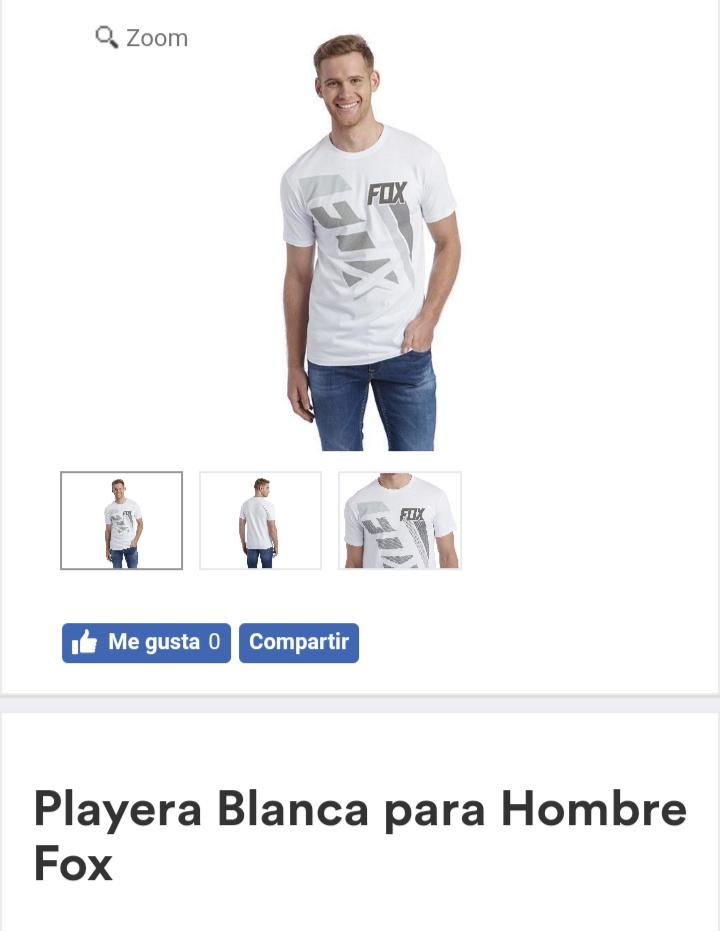 Coppel: Playeras Fox Para Hombre Desde $89 + Envío Gratis