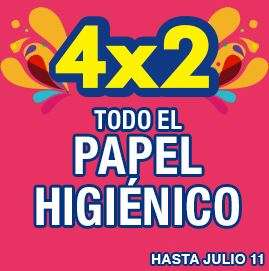 Julio Regalado en La Comer: 4x2 en papel higiénico