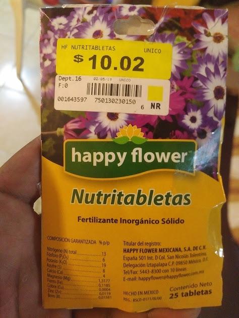 Wallmart Fertilizante Happy Flower de $30 a $3 Y MÁS OFERTAS