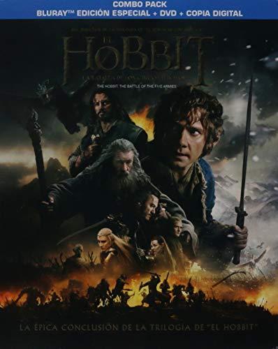 Amazon MX: El Hobbit La Batalla de los 5 Ejércitos Steelbook + Bluray+ DVD + Descarga Digital