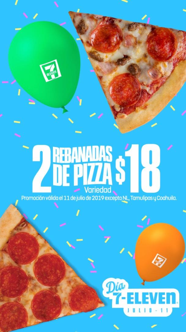 7 Eleven: Promociones en Pizza