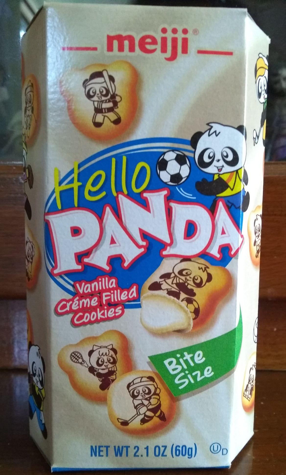 Chedraui: Galleta rellena de crema sabor vainilla Hello Panda