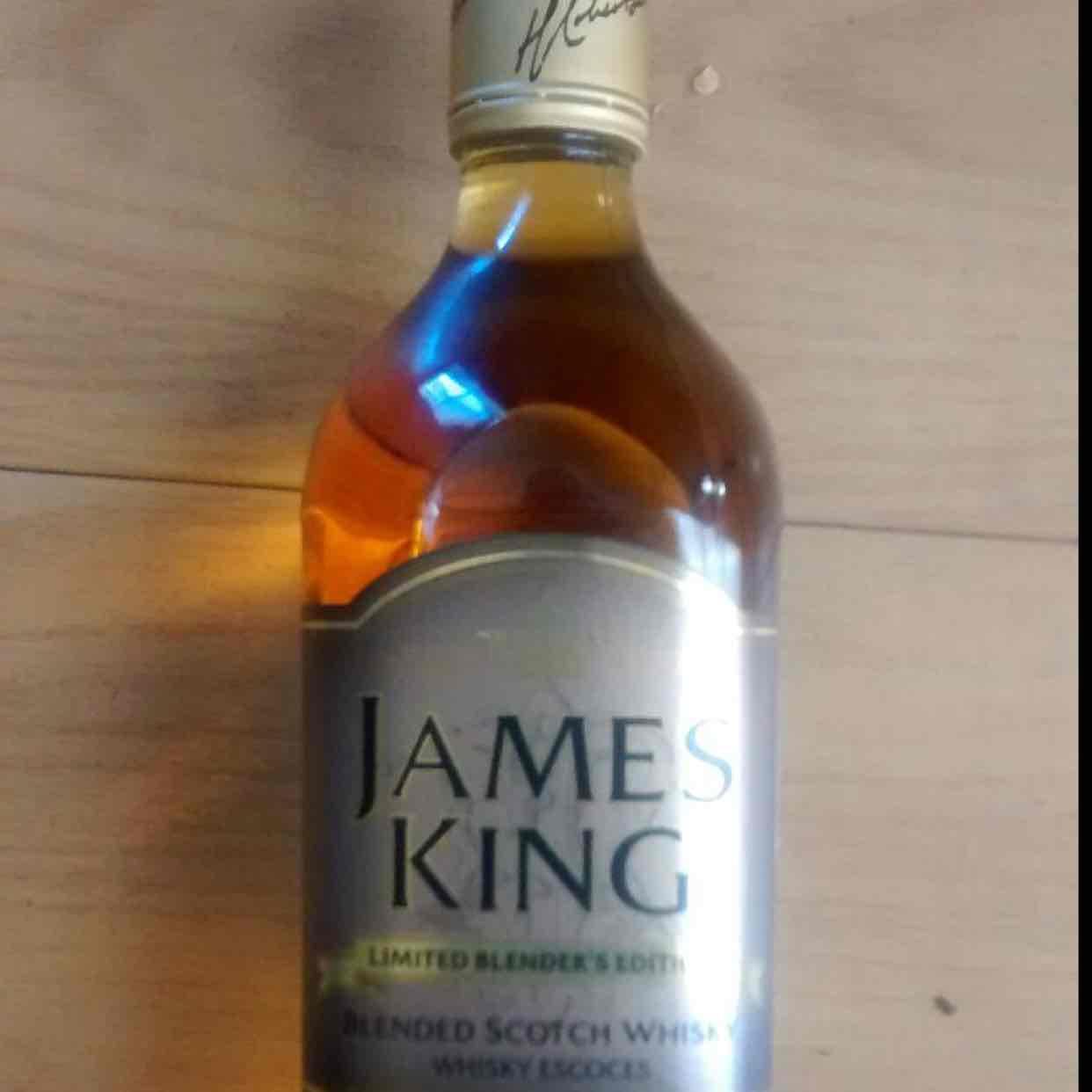 Walmart tienda física: whisky james king limited edition 41.02