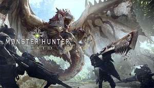 Humble Bundle: Monster Hunter: World Deluxe Edition.