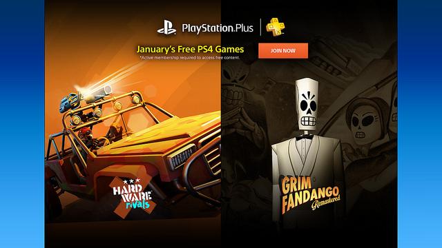 PS Plus: Juegos Gratis del Mes de Enero