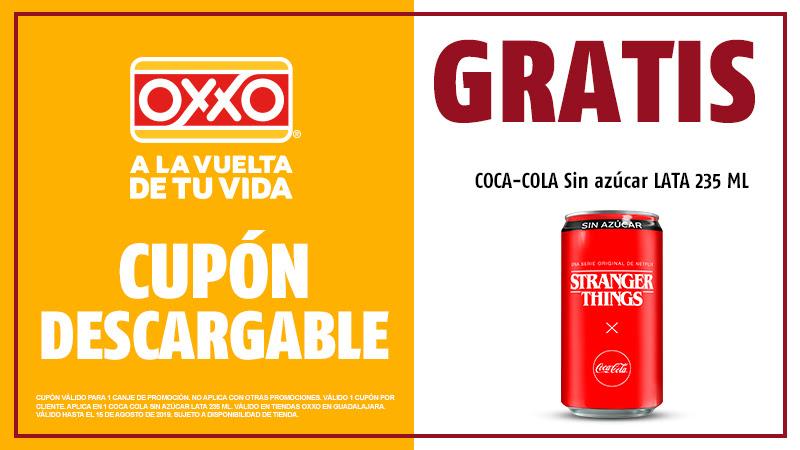 Oxxo: Coca cola sin azúcar GRATIS (Sólo Guadalajara)