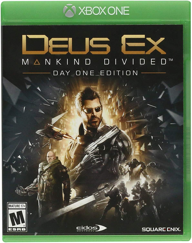 Amazon: Deus Ex Mankind Divided Xbox One Standard Edition