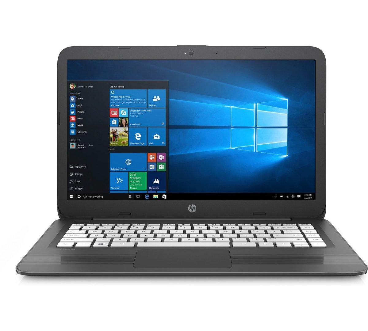 "Soriana: Laptop HP 14"" Intel Celeron 4GB RAM + 32GB eMMC W10"