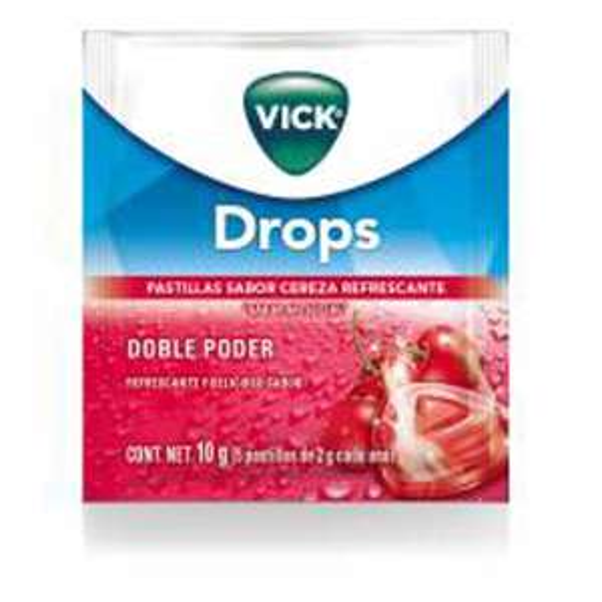 Chedraui: Pastillas Vick Cherry Procter 5 Pzas