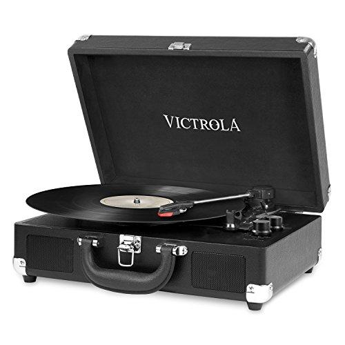Amazon: TocaDiscos Portable Victrola