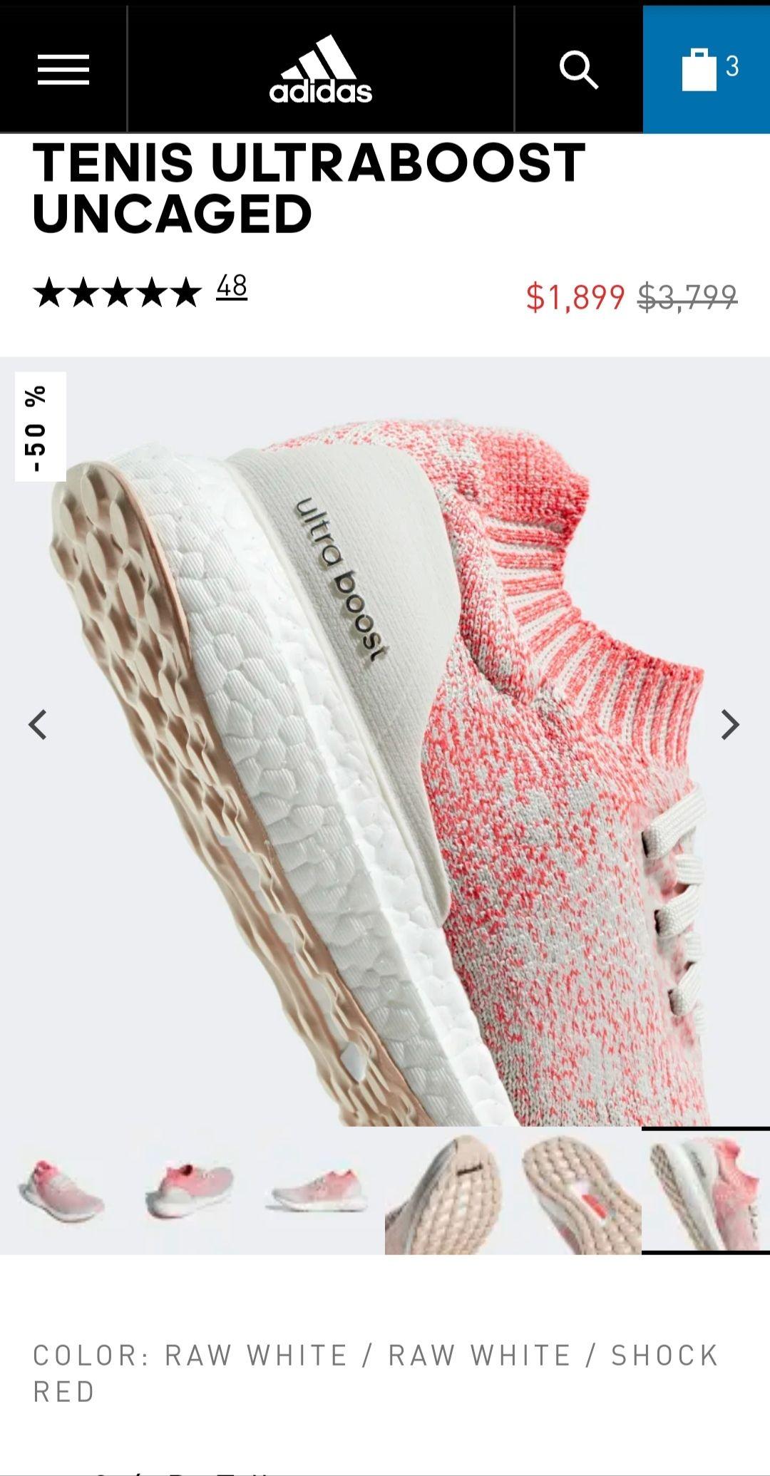 Adidas: Ultraboost Uncaged Dama