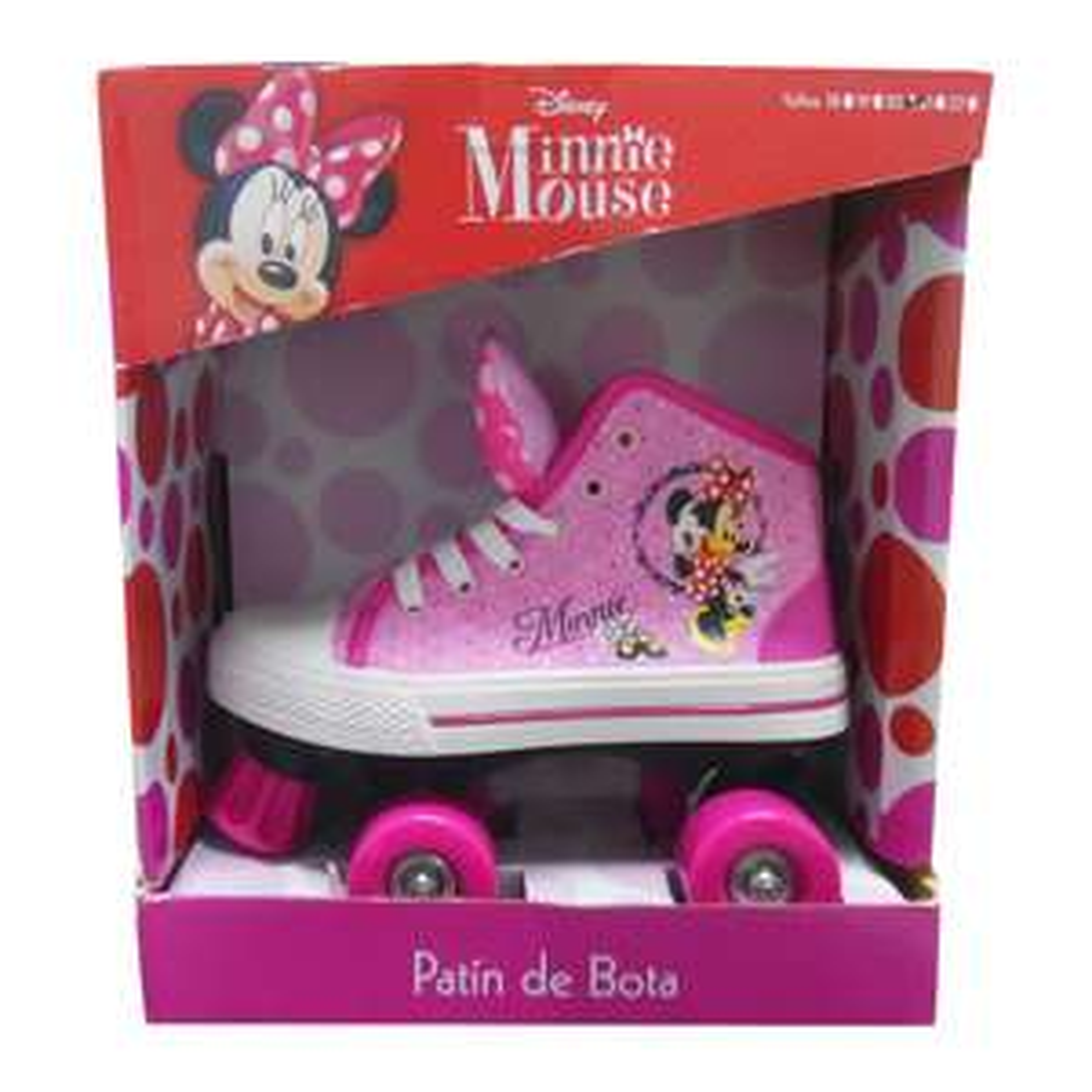 Palacio de hierro: Patines 4 ruedas para niña Minnie