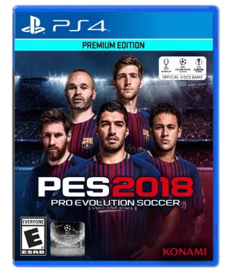 Claro Shop PES 2018 PS4 Premium Edition