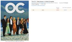 Amazon MX: The O.C. la serie completa  $329