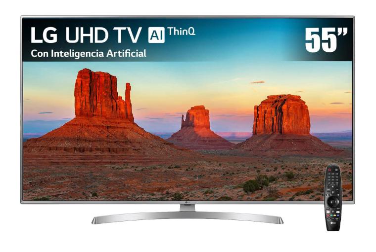 Liverpool: Pantalla LG 4K Ultra HD 55 Pulgadas 55UK6550PUB