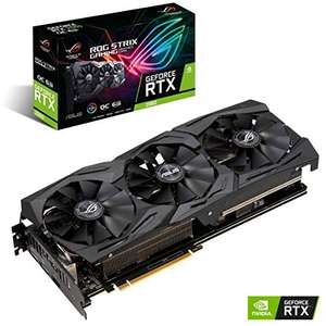 Amazon: Tarjeta gráfica GeForce ASUS ROG-STRIX-RTX2060-O6G-GAMING, 6GB GDDR6, HDMI, DP 1.4