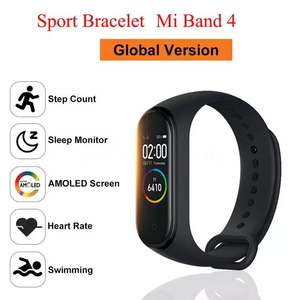 Aliexpress: M4 (Copia Mi band 4)