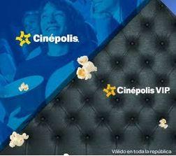 cickOnero: boletos para Cinépolis a $31 y VIP a $81