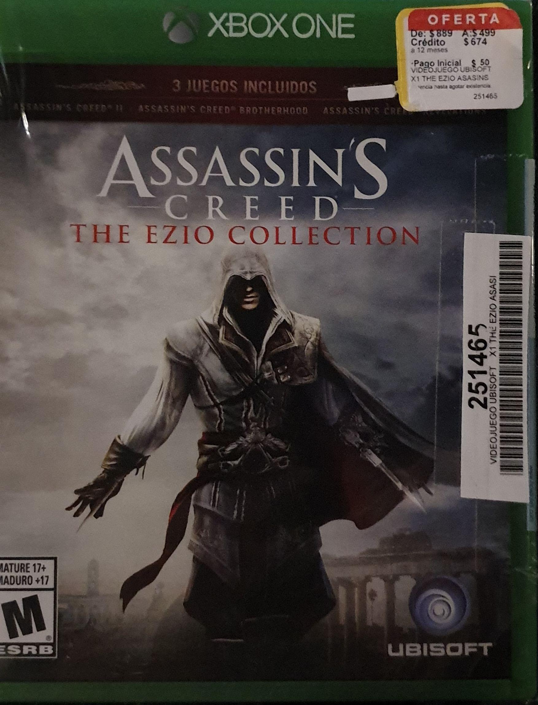 Coppel: Assassins Creed The Ezio Collection