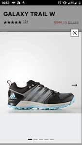 Adidas: Tenis Galaxy Trail