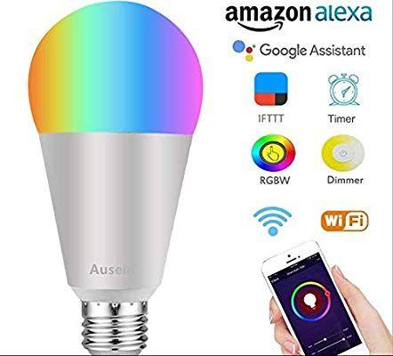 Amazon: Foco WiFi LED compatible con Alexa