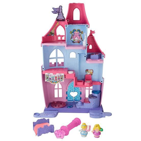 Walmart en línea: Castillo Little People Disney Princess de $1399 a $399 pesitos