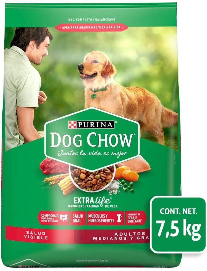 Amazon: Dog Chow Comida  7.5kg