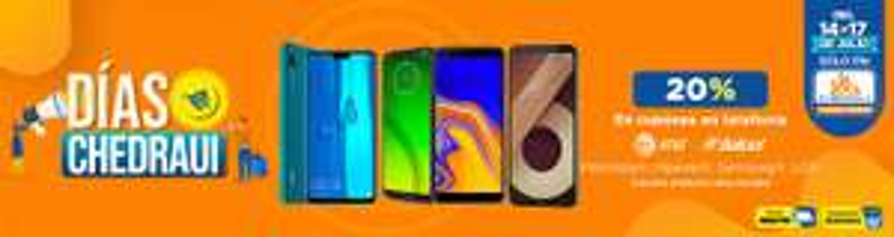 Chedraui: Días Chedraui: 20% en cupones en telefonía celular... y más... Además envío gratis