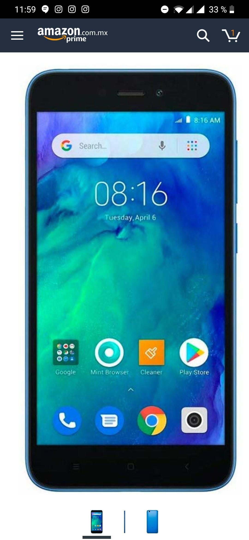 Amazon: Xiaomi Redmi Go Desbloqueado -  Color Azul con Prime