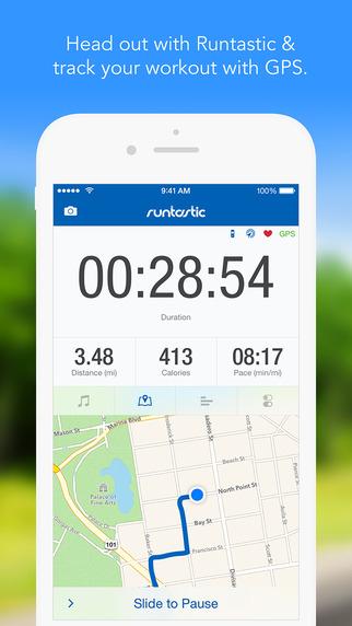 App para Ejercicio RUNTASTIC PRO para iOS, GRATIS por 24 horas en iTunes.