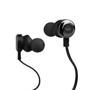 Amazon: Monster Clarity Audífonos intraauriculares de alta definición, negro