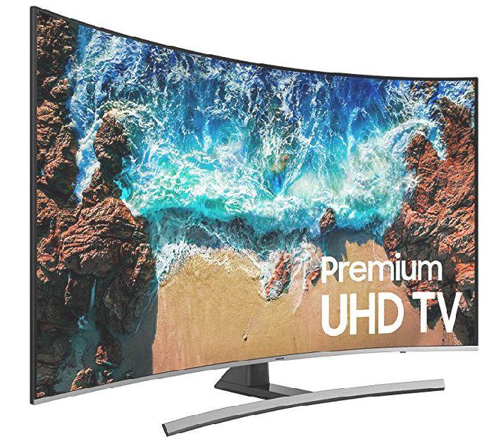 """Amazon: Samsung 55"""" Smart TV UHD 4K CURVA(pagando con Banorte o Citibanamex y cupón)"""