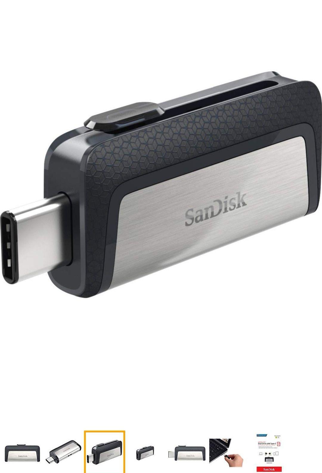 Amazon: SanDisk 128GB Ultra Dual Drive USB