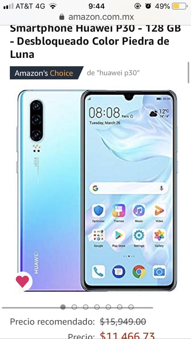 Amazon: Huawei p30