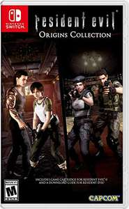 Amazon: Resident Evil Origins Collection