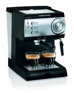 Amazon: Cafetera Espresso Hamilton Beach 40715 - Prime Day
