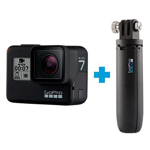 Amazon: GoPro Hero 7 Black + Shorty (Pagando con Banorte)